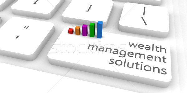 Wealth Management Solutions Stock photo © kentoh