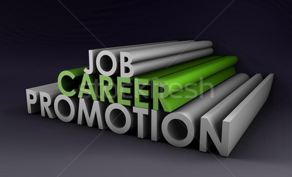 Job Career Promotion Stock photo © kentoh