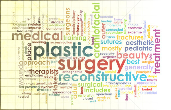 Plastic Surgery Stock photo © kentoh