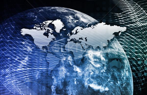 Entegre çözümler web Internet çapraz Stok fotoğraf © kentoh