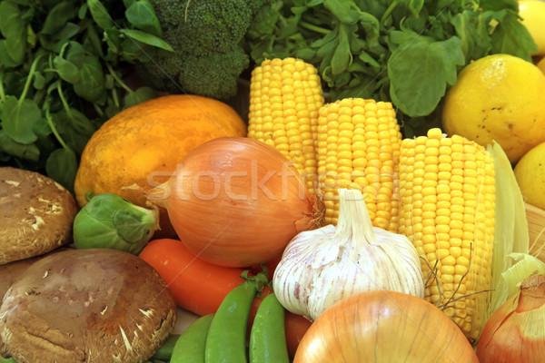 Fresh Vegetables Stock photo © kentoh