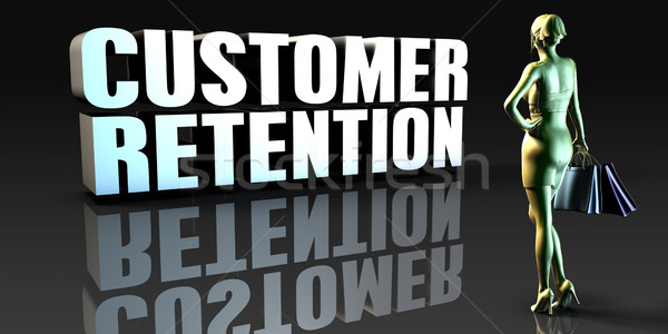 Customer Retention Stock photo © kentoh