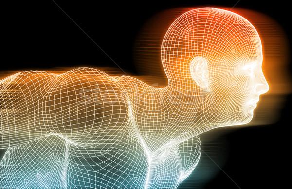 медицинской аннотация науки биологии исследований технологий Сток-фото © kentoh