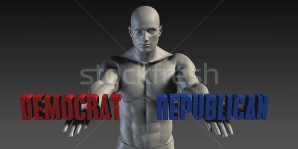 Democrat or Republican Stock photo © kentoh
