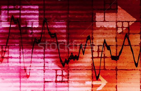 экономический развития анализ прогноз диаграммы рынке Сток-фото © kentoh