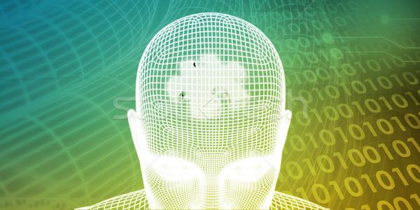 Creative промышленности технологий науки области бизнеса Сток-фото © kentoh