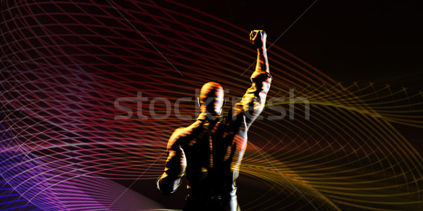 Overcoming Obstacles Stock photo © kentoh
