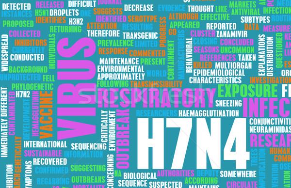 H7N4 Stock photo © kentoh