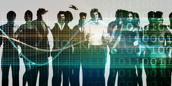 Business startup klaar race concurrentie ontwerp Stockfoto © kentoh