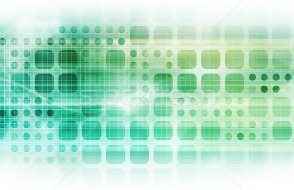 Modern multimedya yaratıcı Internet uzay düşünme Stok fotoğraf © kentoh