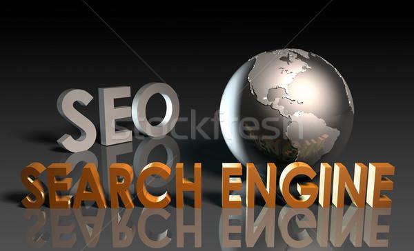 Seo internet technologie communicatie Stockfoto © kentoh