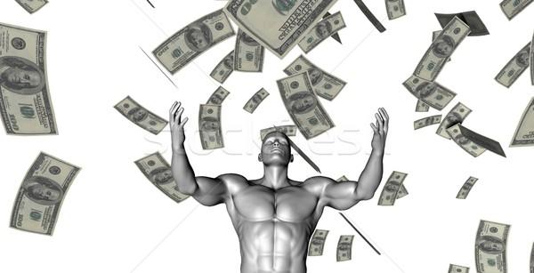 Stockfoto: Winst · geld · business · industrie · tijd
