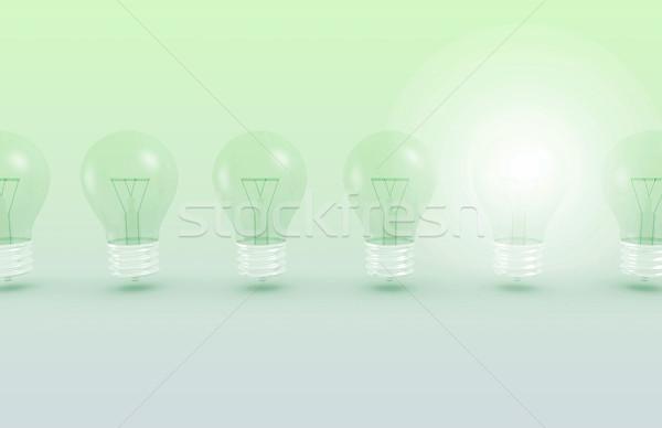 Stock fotó: Nyerő · ötlet · üzlet · terv · technológia · háttér