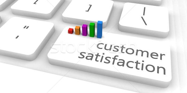 Customer Satisfaction Stock photo © kentoh