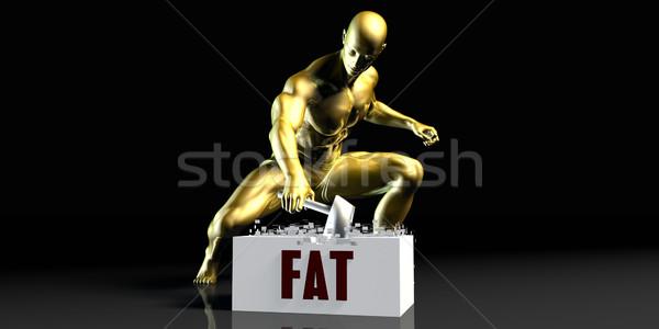 Fat Stock photo © kentoh