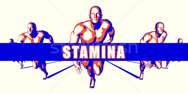 Stamina Stock photo © kentoh