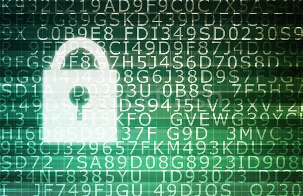 Proteger dados vulnerável informação Foto stock © kentoh