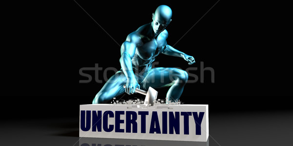 Get Rid of Uncertainty Stock photo © kentoh