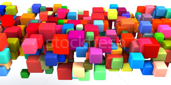 Abstract Colorful Background Stock photo © kentoh