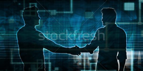 Pénzügyi tervezés beruházás növekedés személyes vagyon absztrakt Stock fotó © kentoh
