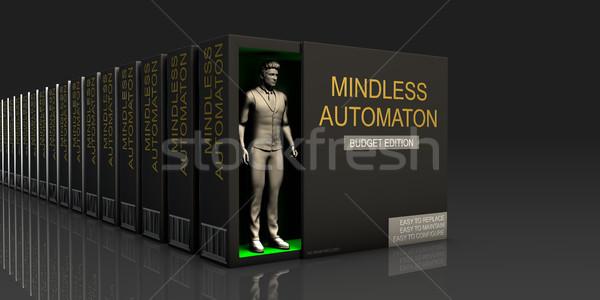 Mindless Automaton Stock photo © kentoh