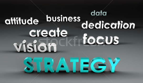 Strategy at the Forefront Stock photo © kentoh