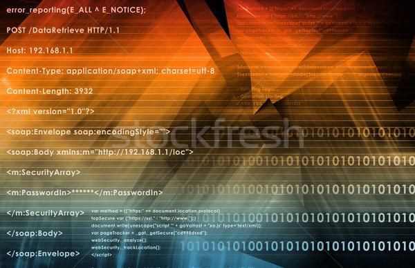 Dati logica web integrazione internet tecnologia Foto d'archivio © kentoh