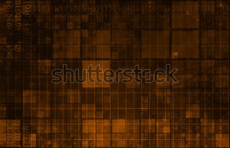 Bilgi teknolojisi veri ağ arka plan kurumsal şirket Stok fotoğraf © kentoh