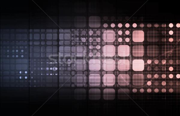 Sieci Internetu ruchu danych streszczenie Zdjęcia stock © kentoh