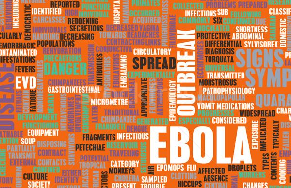 Ebola Stock photo © kentoh