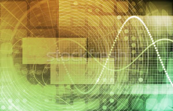 Opieki zdrowotnej nauki danych działalności muzyka Zdjęcia stock © kentoh