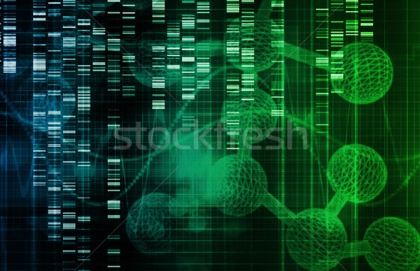 Genetic Background Stock photo © kentoh