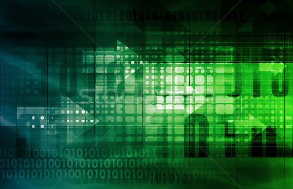 Extranjero intercambio forex negocios resumen tecnología Foto stock © kentoh
