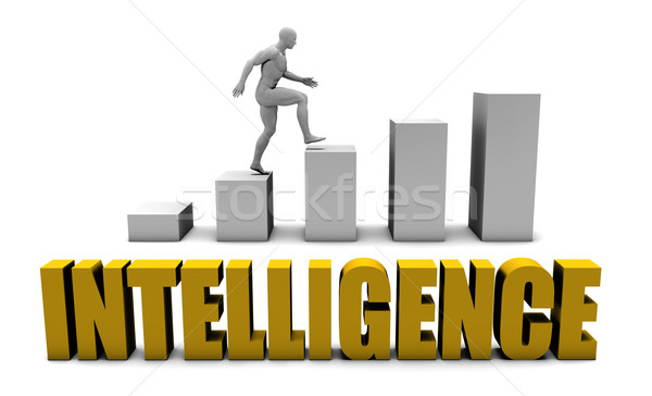 Intelligence Stock photo © kentoh