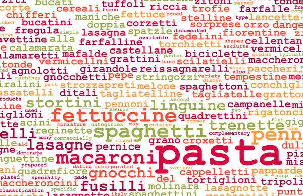 Pasta Stock photo © kentoh