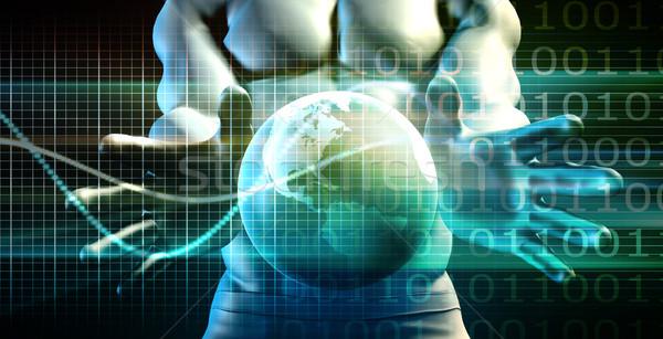 Tıbbi biyoloji teknoloji sanat soyut doku Stok fotoğraf © kentoh