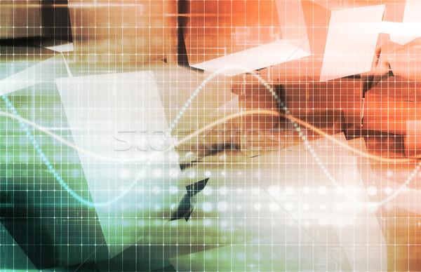 Segurança software internet dados proteção conceito Foto stock © kentoh