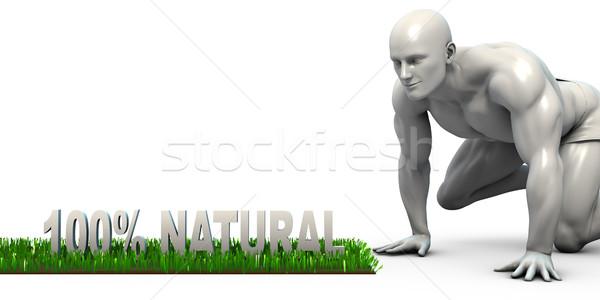 100% Natural Stock photo © kentoh