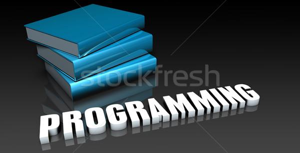 Programmazione classe scuola istruzione libro web Foto d'archivio © kentoh