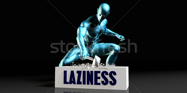 Get Rid of Laziness Stock photo © kentoh
