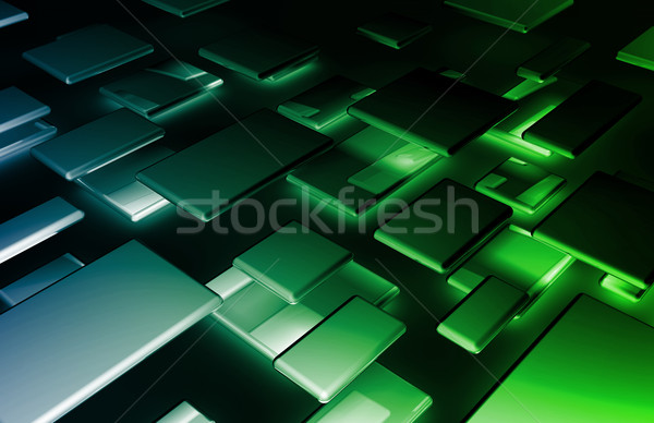 Banner abstract business textuur internet Stockfoto © kentoh