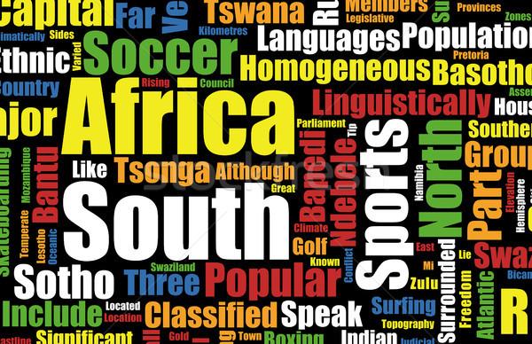 Güney Afrika futbol dünya fincan evsahibi olay Stok fotoğraf © kentoh