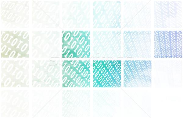 データ ネットワーク 高速 移動 コンピュータ 光 ストックフォト © kentoh