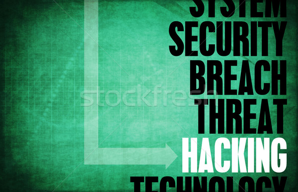 Hacking Stock photo © kentoh