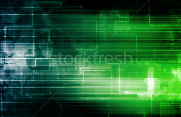 Disco Techno Party Background Stock photo © kentoh