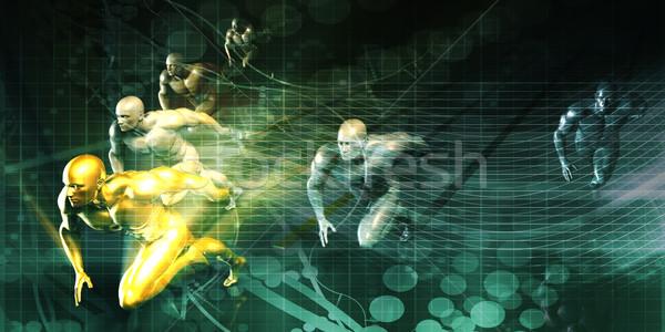 Sports Development Stock photo © kentoh