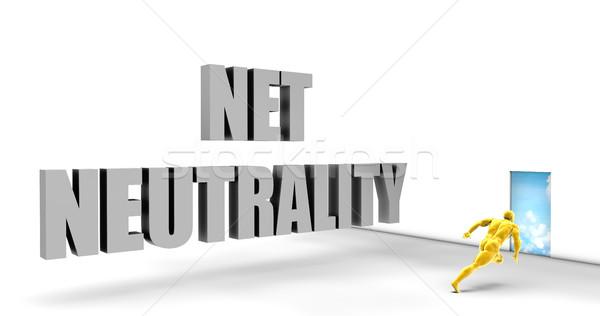 Net Neutrality Stock photo © kentoh