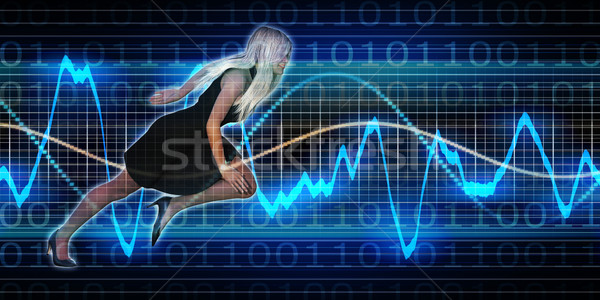 Successful Business with Nordic Woman Stock photo © kentoh