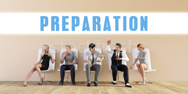Business Preparation Stock photo © kentoh