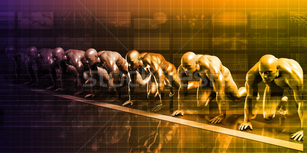 Scientific Research Stock photo © kentoh